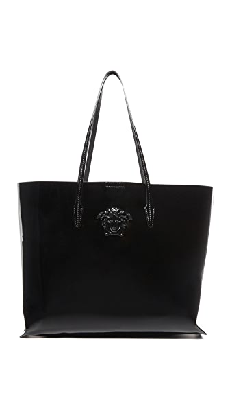 Versace Patent Leather Tote