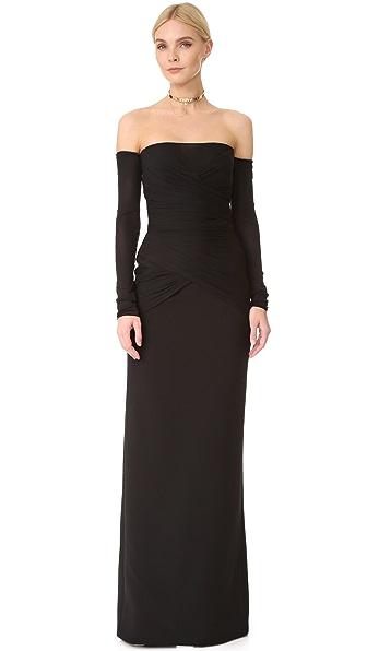 Versace Платье с длинными рукавами