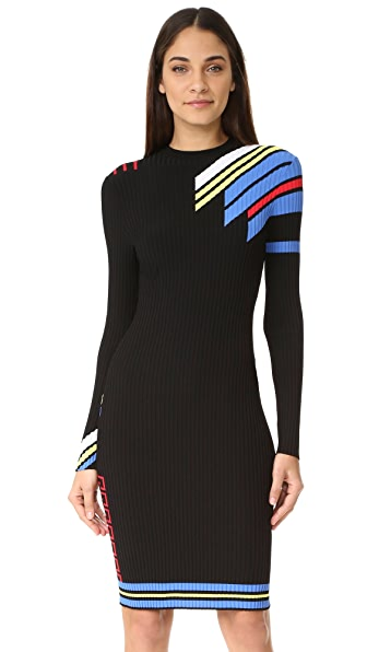 Versace Long Sleeve Dress