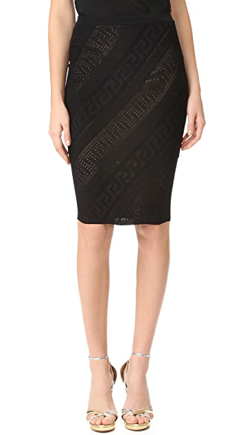 Versace Knee Length Skirt