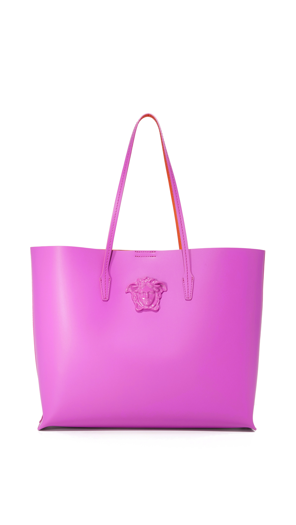 versace female versace large tote pink