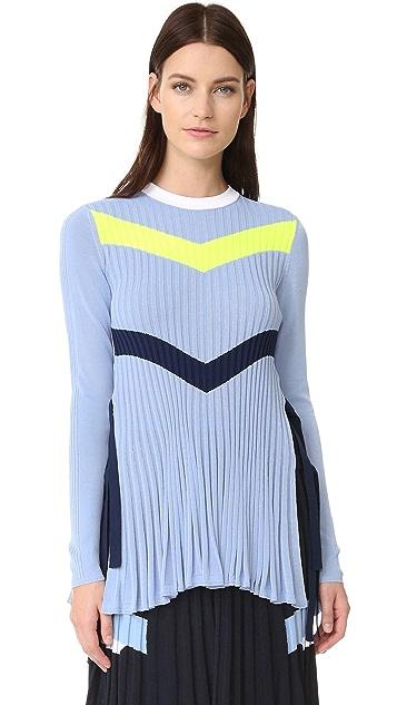 Versace Knit Chevron Sweater