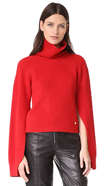 Versace Turtleneck Sweater - Red