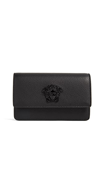Versace Medusa Cross Body Bag In Nero/Nero