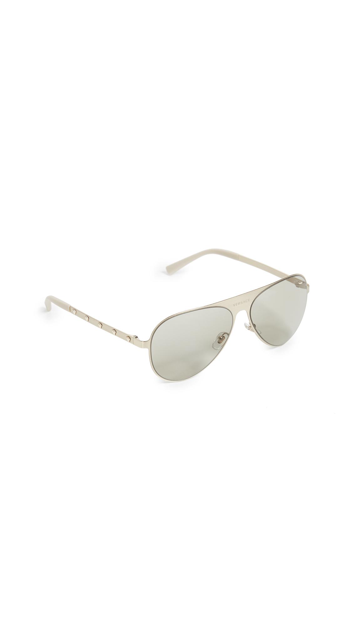 Versace Aviator Sunglasses