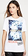 Versace 几何图案 T 恤