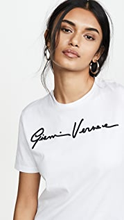Versace T-Shirt Donna Bio + Ricamo