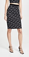 Versace 针织半身裙