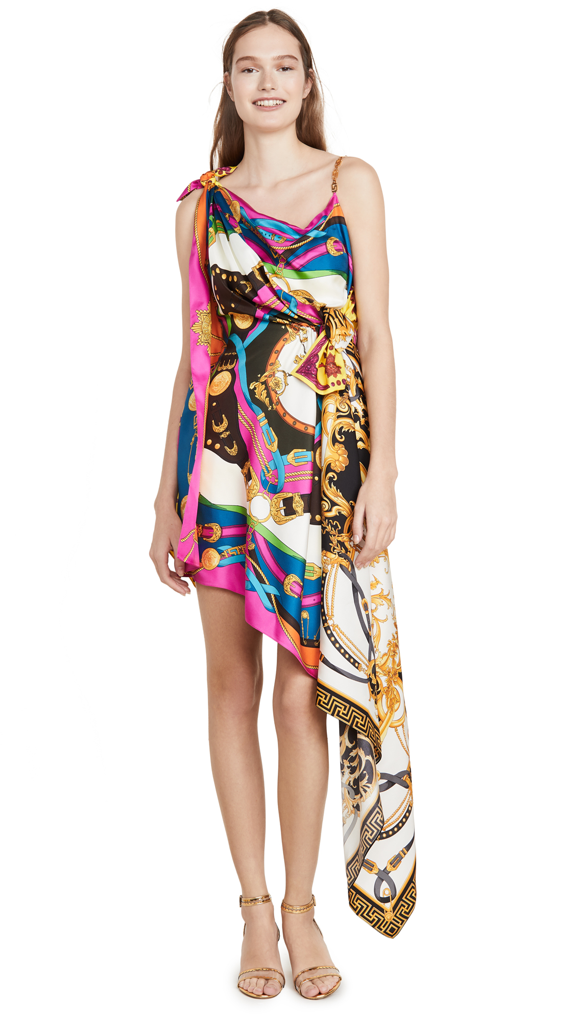 Versace Abito Donna Tessuto Dress – 40% Off Sale