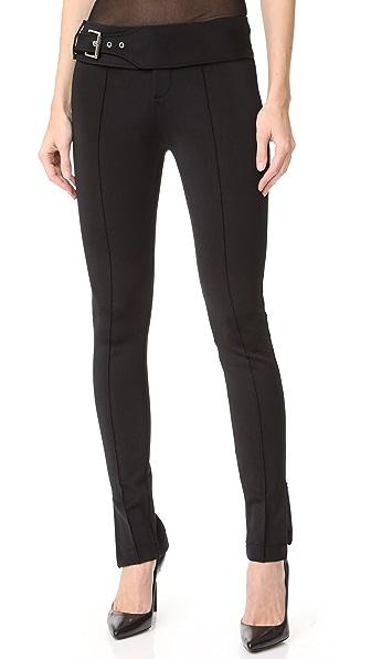 Versus Узкие брюки с поясом