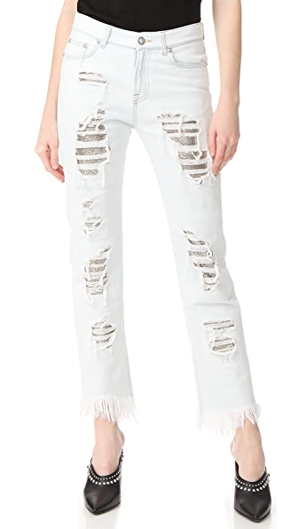 Versus Distressed Jeans