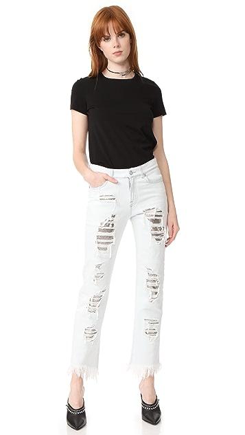 Versus Distressed Jeans