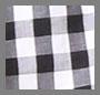Black/White Gingham