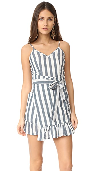 VETIVER Ali Wrap Dress