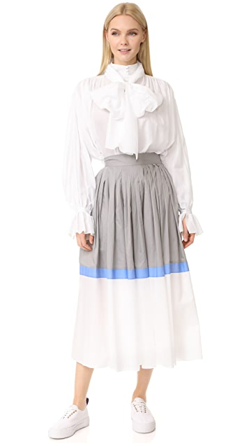 Vika Gazinskaya Pleated Skirt