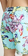 Vilebrequin Watercolor Turtles Moorea Swim Trunks