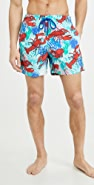 Vilebrequin Lobster and Coral Moorea Swim Trunks