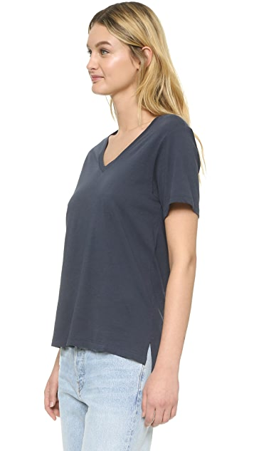Vince Relaxed V Neck T-Shirt