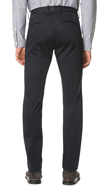Vince Cotton Sateen Urban Trousers