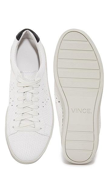 Vince Simon Snake Print Sneakers