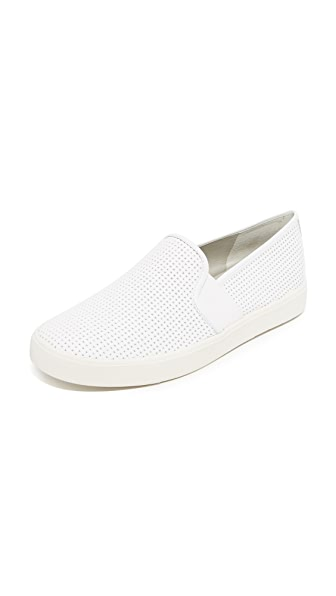 Vince Blair Slip On Sneakers In White