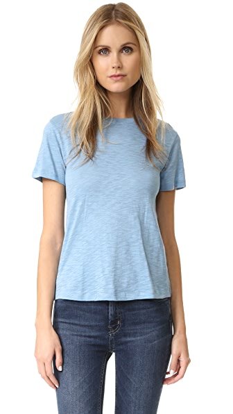 Vince Little Boy Slub Tee - Sky Blue at Shopbop