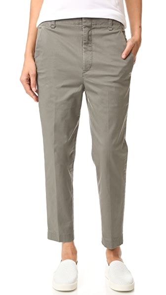 Vince Carrot Chino Pants - Olive at Shopbop