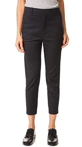 Vince Carrot Chino Pants - Black at Shopbop