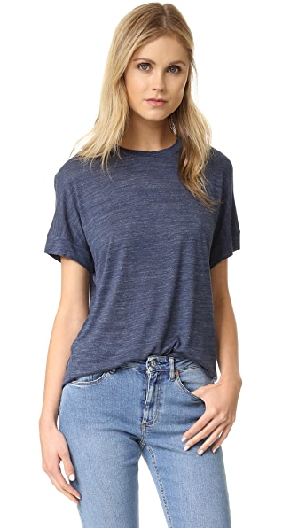 Vince Cuffed Sleeve Cocoon Tee - H. Coastal at Shopbop