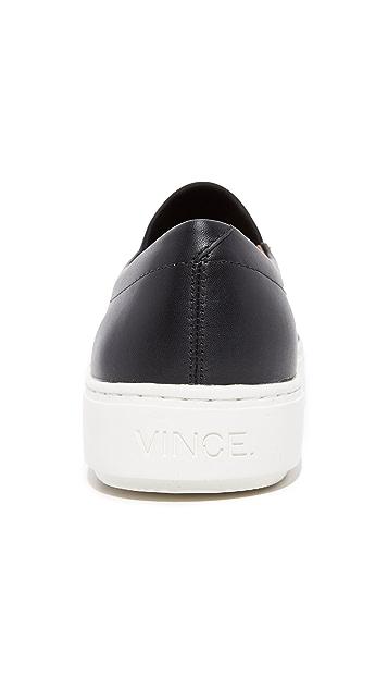 Vince Lago Neoprene Slip On Sneakers