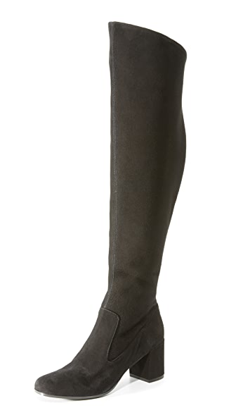 Vince Blythe Over The Knee Boots - Black at Shopbop
