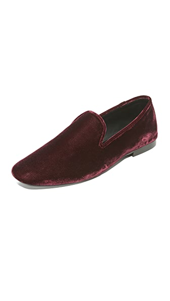 Vince Bray Loafers - Oxblood at Shopbop