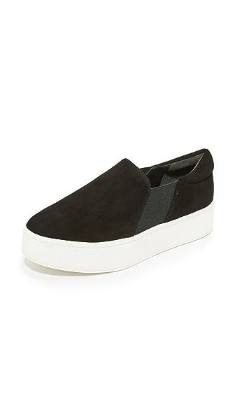 Vince Warren Platform Sneakers - Black