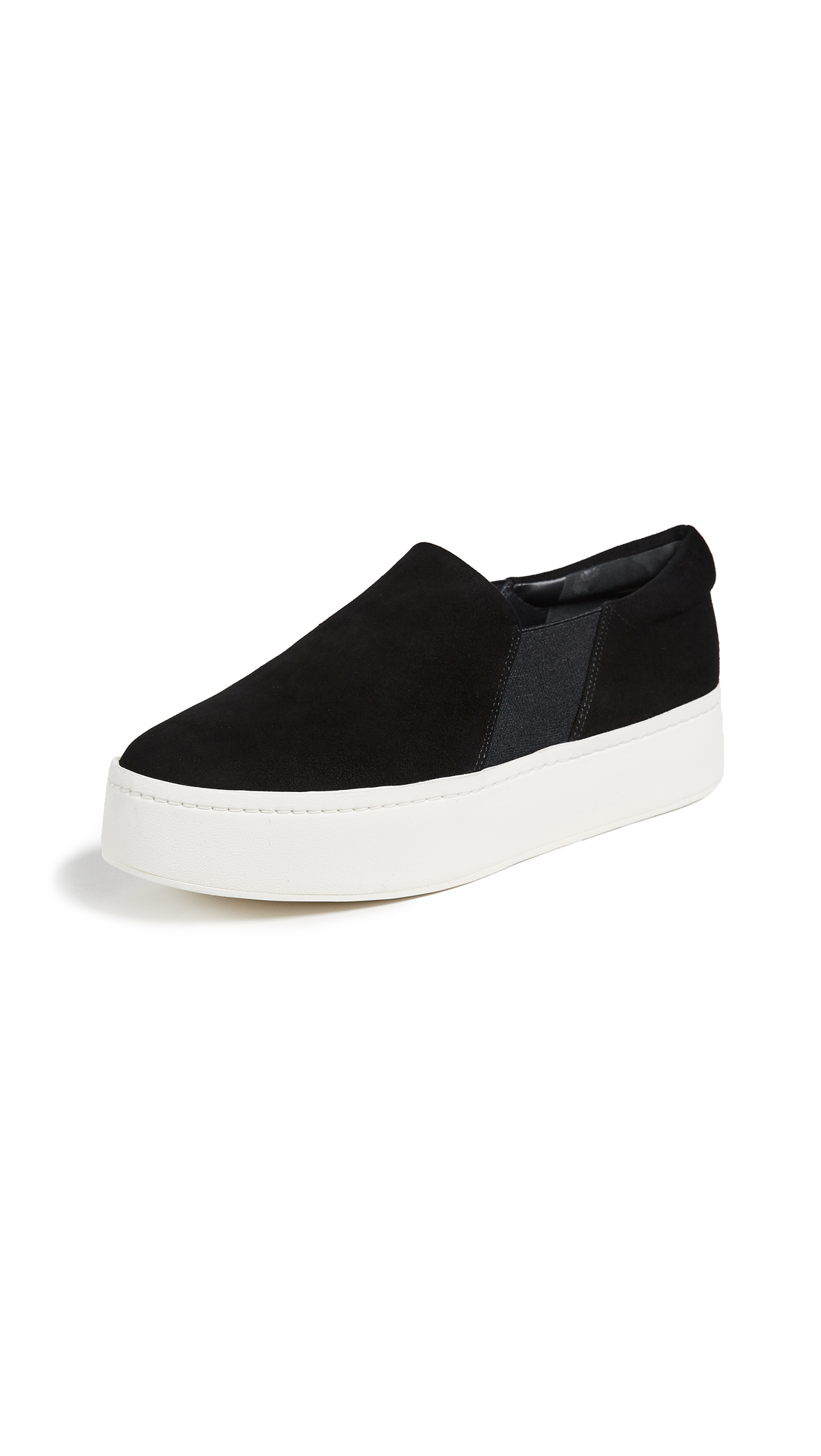 Vince Warren Platform Sneakers - Black