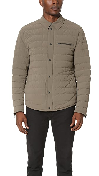 Vince Quilted Down Ski Jacket