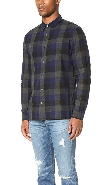 Vince Melange Buffalo Check Shirt
