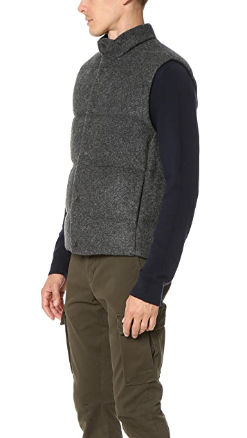 Vince Down Quilted Vest