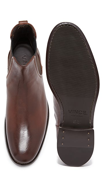 Vince Winslow Leather Chelsea Boots