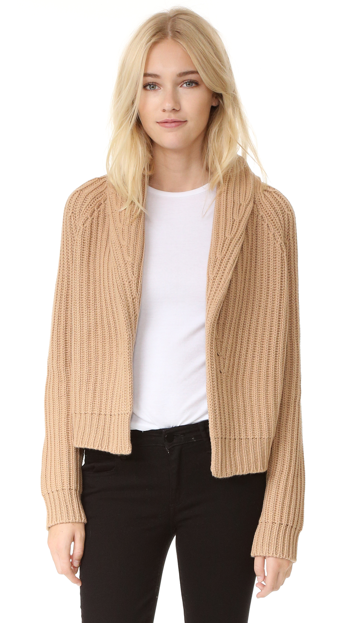 Vince Crop Cardigan Sweater | SHOPBOP