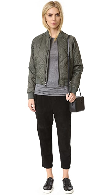 Vince Quilted Bomber
