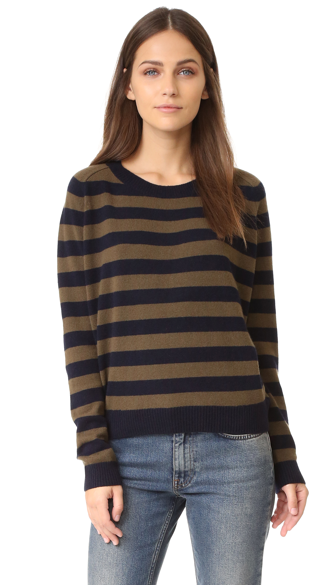 Vince Regiment Stripe Sweater