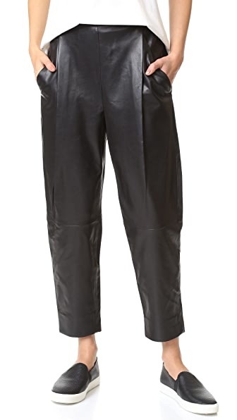 Vince Leather Pants