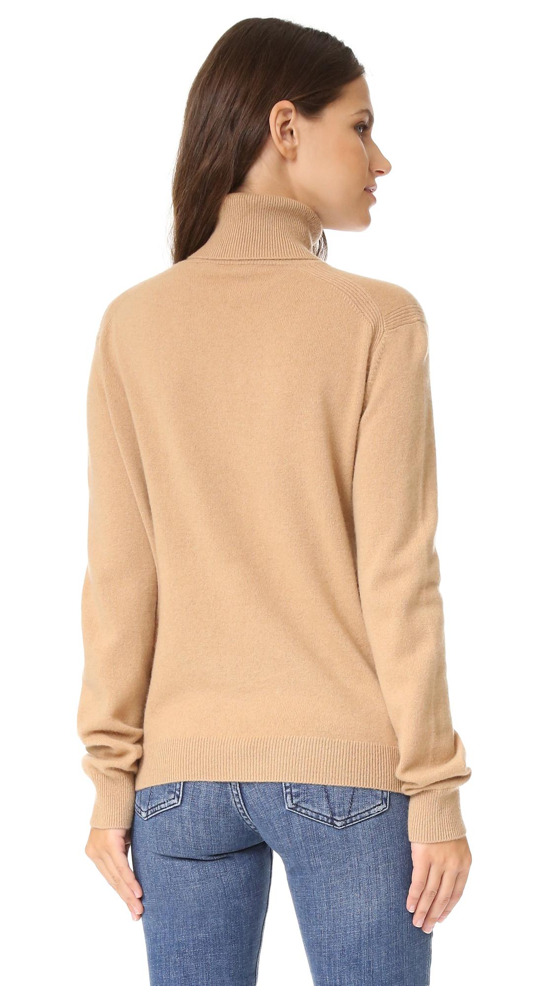 7b4bac256647 Vince Cashmere Turtleneck Sweater