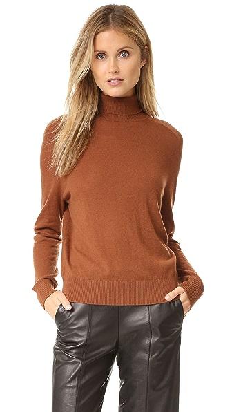 Vince Turtleneck Sweater - Cinnamon Stick