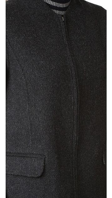 Vince Wool Shell Coat