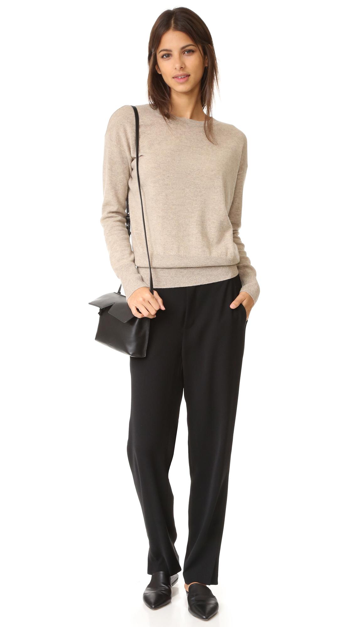 Vince Split Back Cashmere Sweater | SHOPBOP
