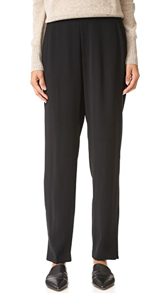 Vince Crepe Lounge Pants - Black at Shopbop