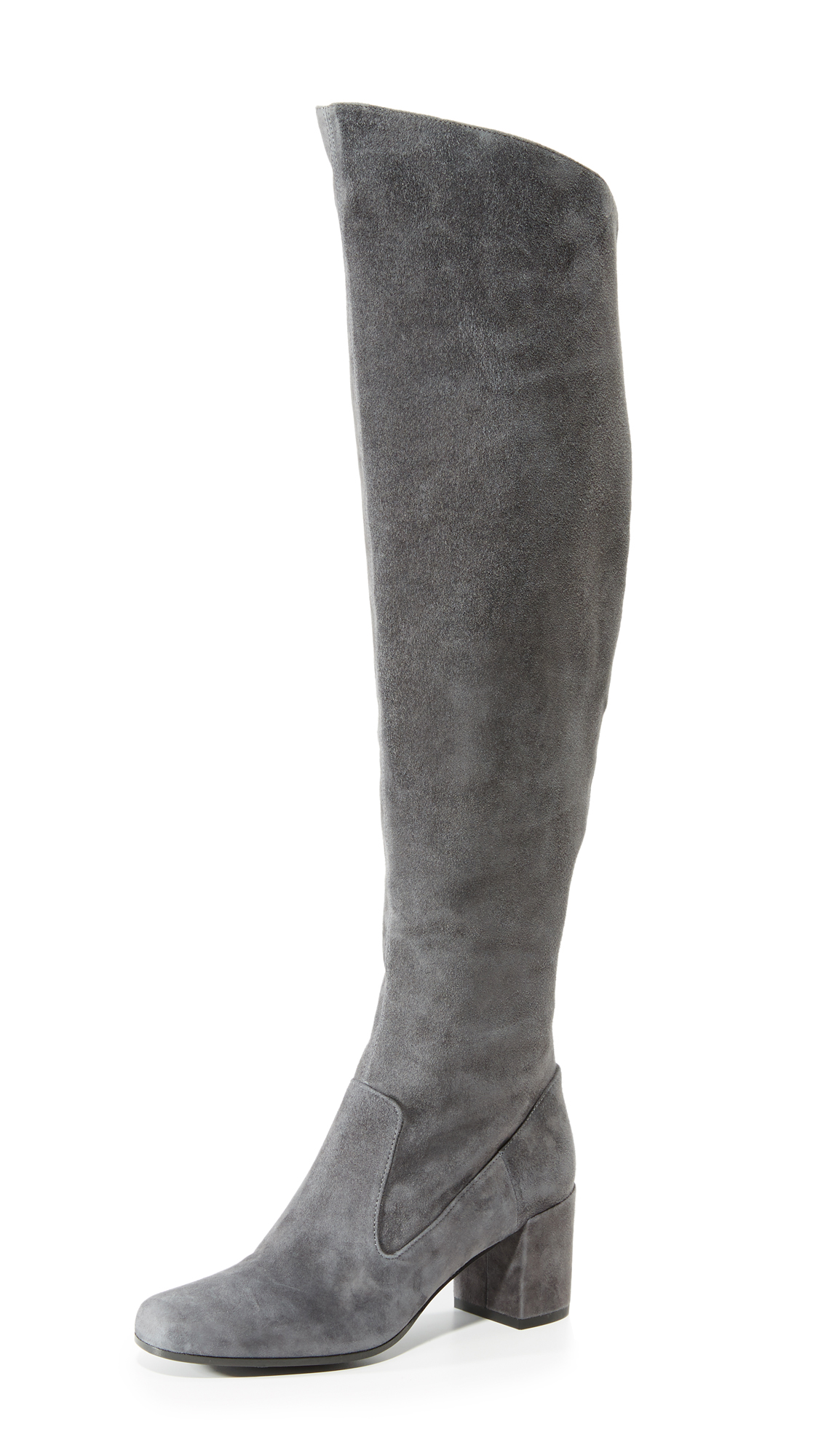 Vince Blythe Over The Knee Boots - Pewter
