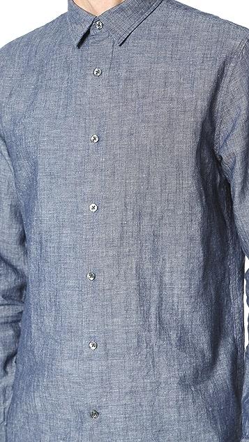 Vince Dark Chambray Melrose Shirt