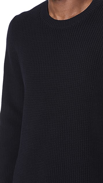 Vince Textured Crew Neck Sweater